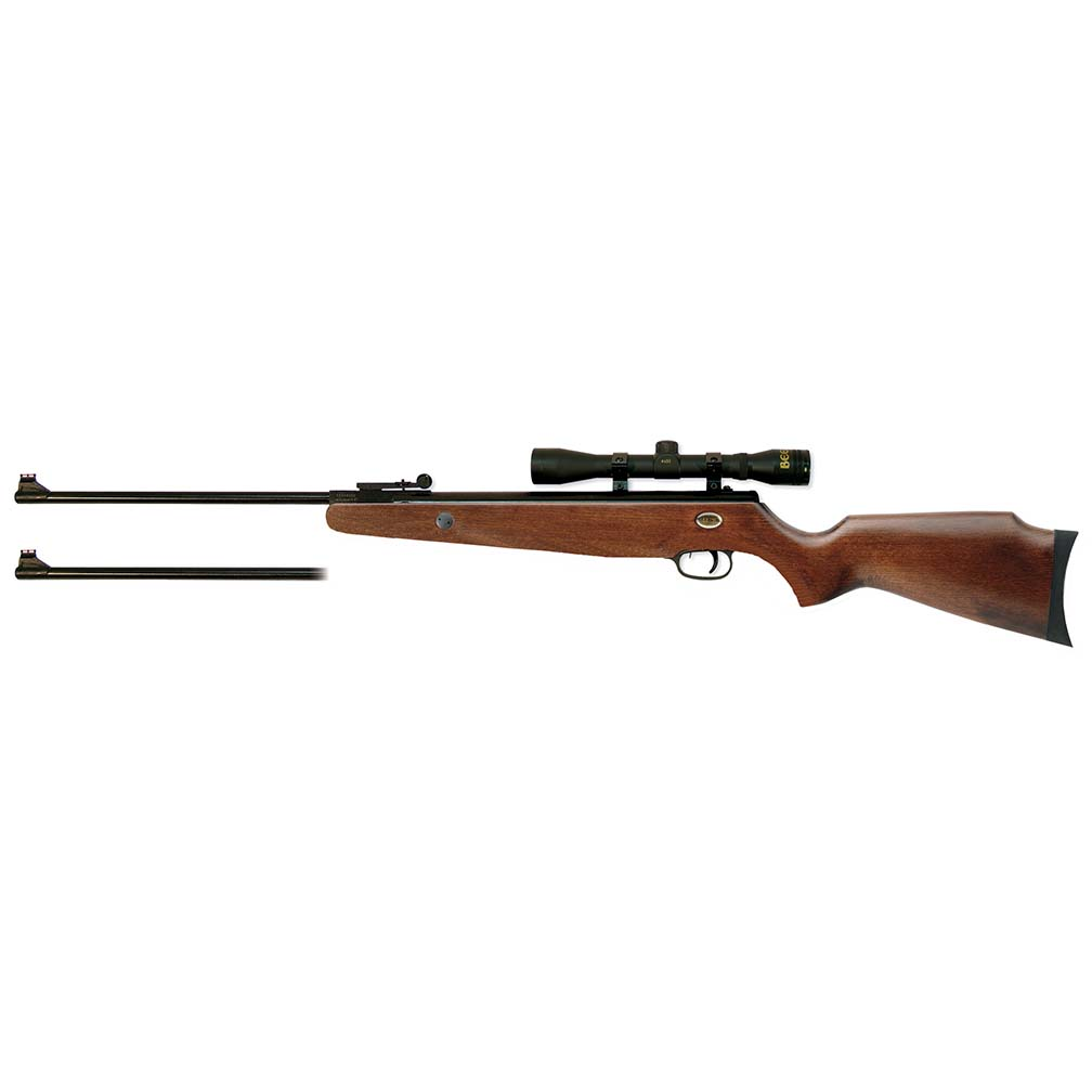 Beeman Grizzly X2 Dual Caliber (.177 & .22) Air Rifle Combo  w/4 x 32 mm Scope & case