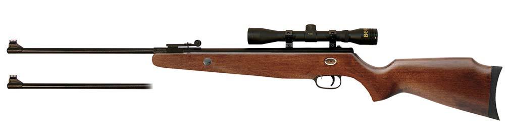 Beeman Grizzly X2 Dual Caliber Air Rifle Combo .177 & .22