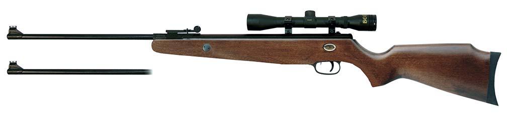 Beeman Grizzly X2 Gas Ram Dual Caliber Air Rifle Combo  4 x 32 scope