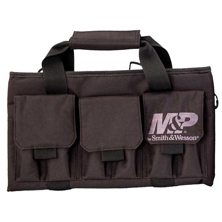 Smith & Wesson Gear Pro Tac Single Handgun Padded Pistol Bag Black