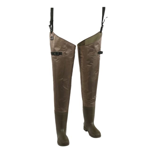 Allen Black River Bootfoot Hip Waders - Size 9
