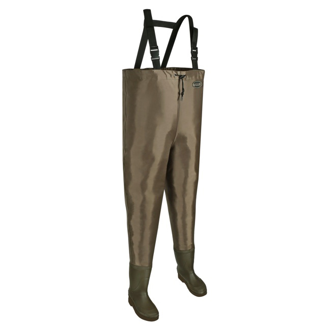 Allen Brule River Bootfoot Chest Waders with Cleated Soles - Size 12