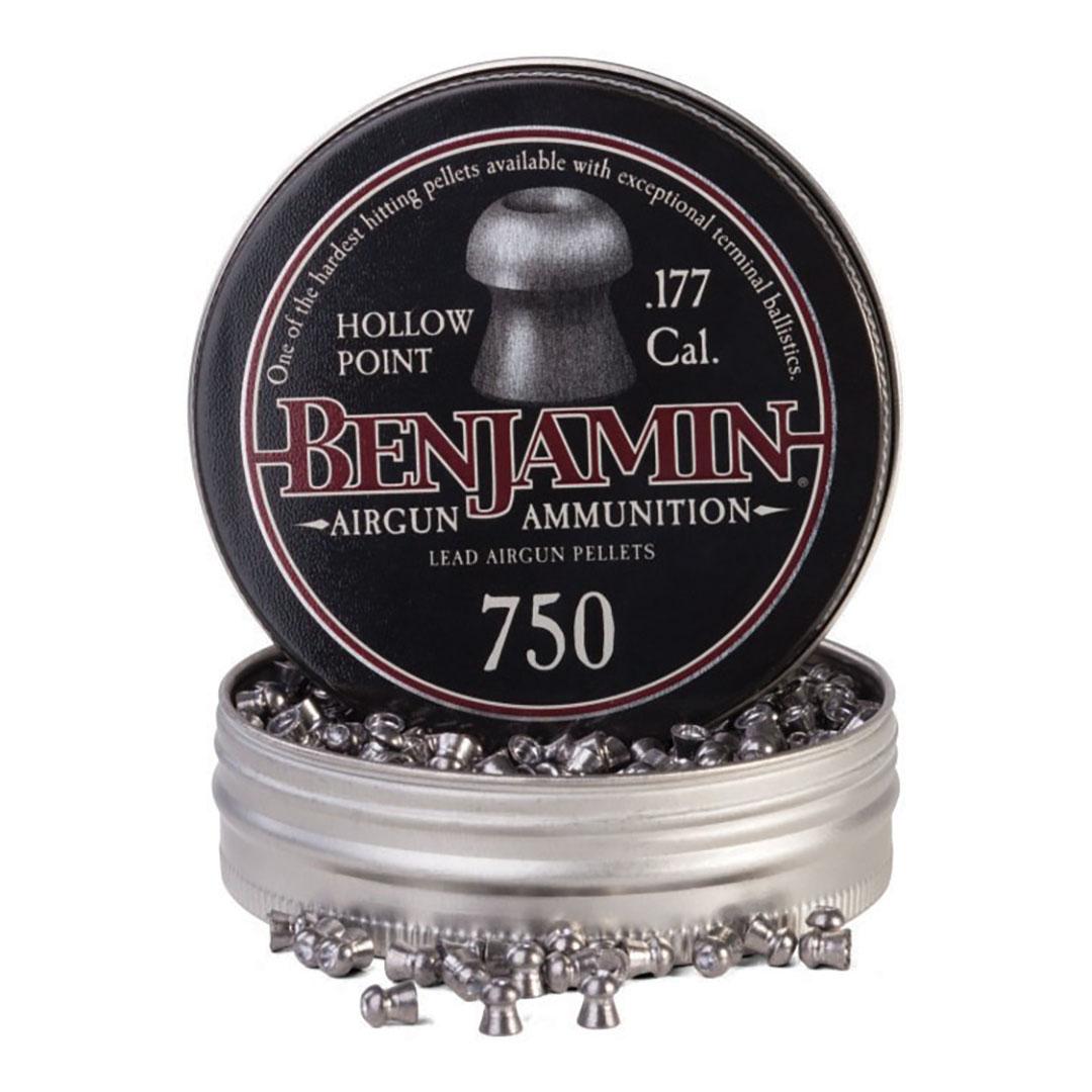Benjamin Hollow Point Pellet.177 Caliber 7.9 Grain 750 Count