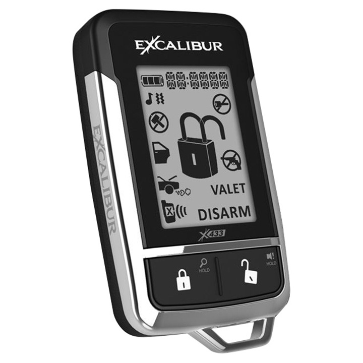 Omega Replacement 2 Way LCD Remote for AL18703DB