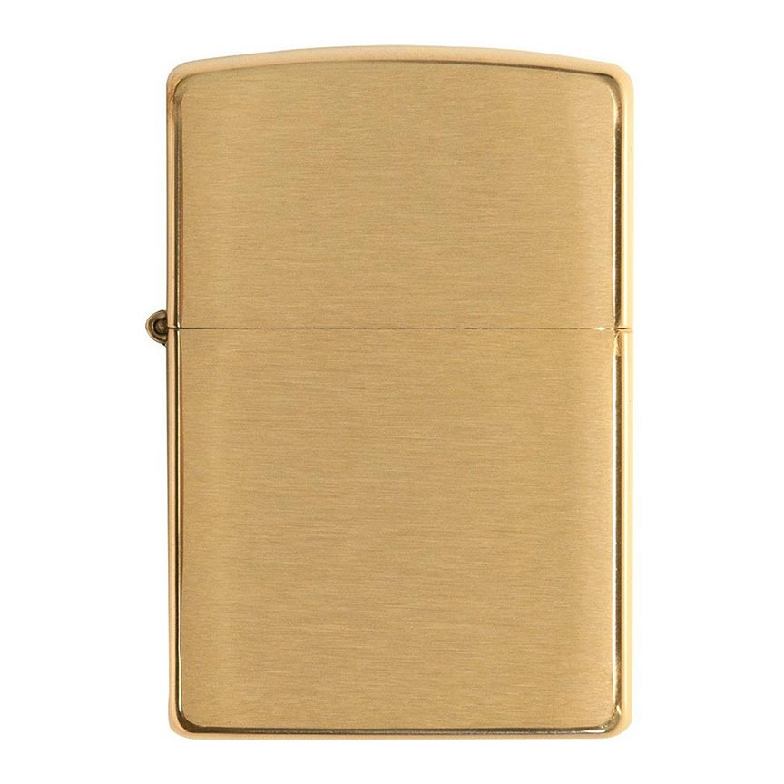Zippo Windproof Lighter Armor Case (1.5 Times Thicker) Brushed Brass
