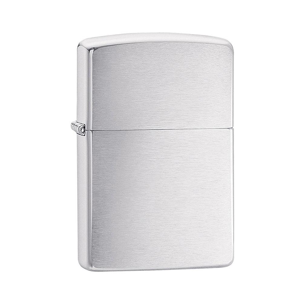 Zippo Windproof Lighter Brushed Chrome