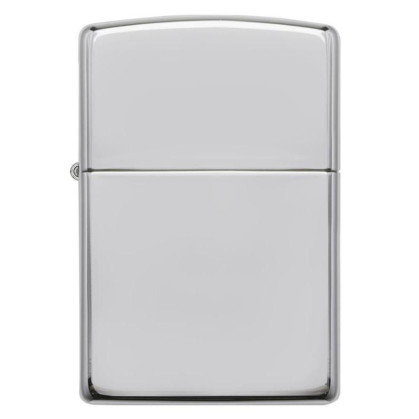 Zippo Windproof Lighter Armor High Polish Sterling Silver