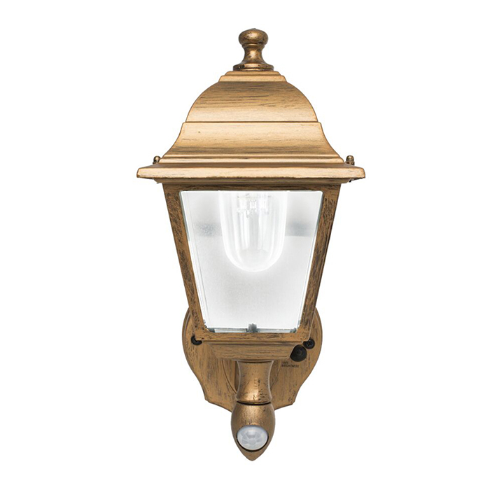 Maxsa BATTERY-POWERED MOTION-ACTIVATED SCONCE - COPPER (COOL WHITE LEDS)