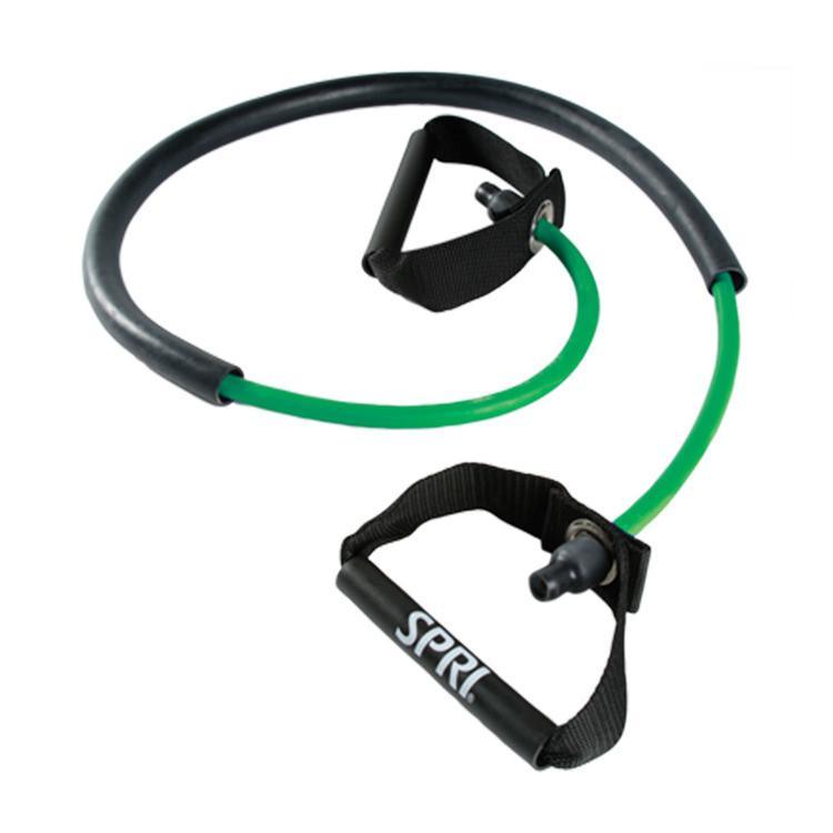 SPRI Xertube With Sleeve  Light  Green