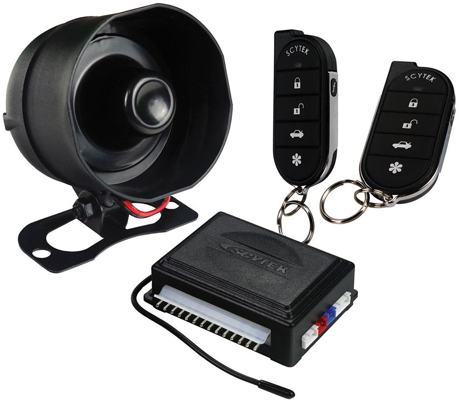 Scytek Galaxy Complete Security System 2 5 Button Remotes