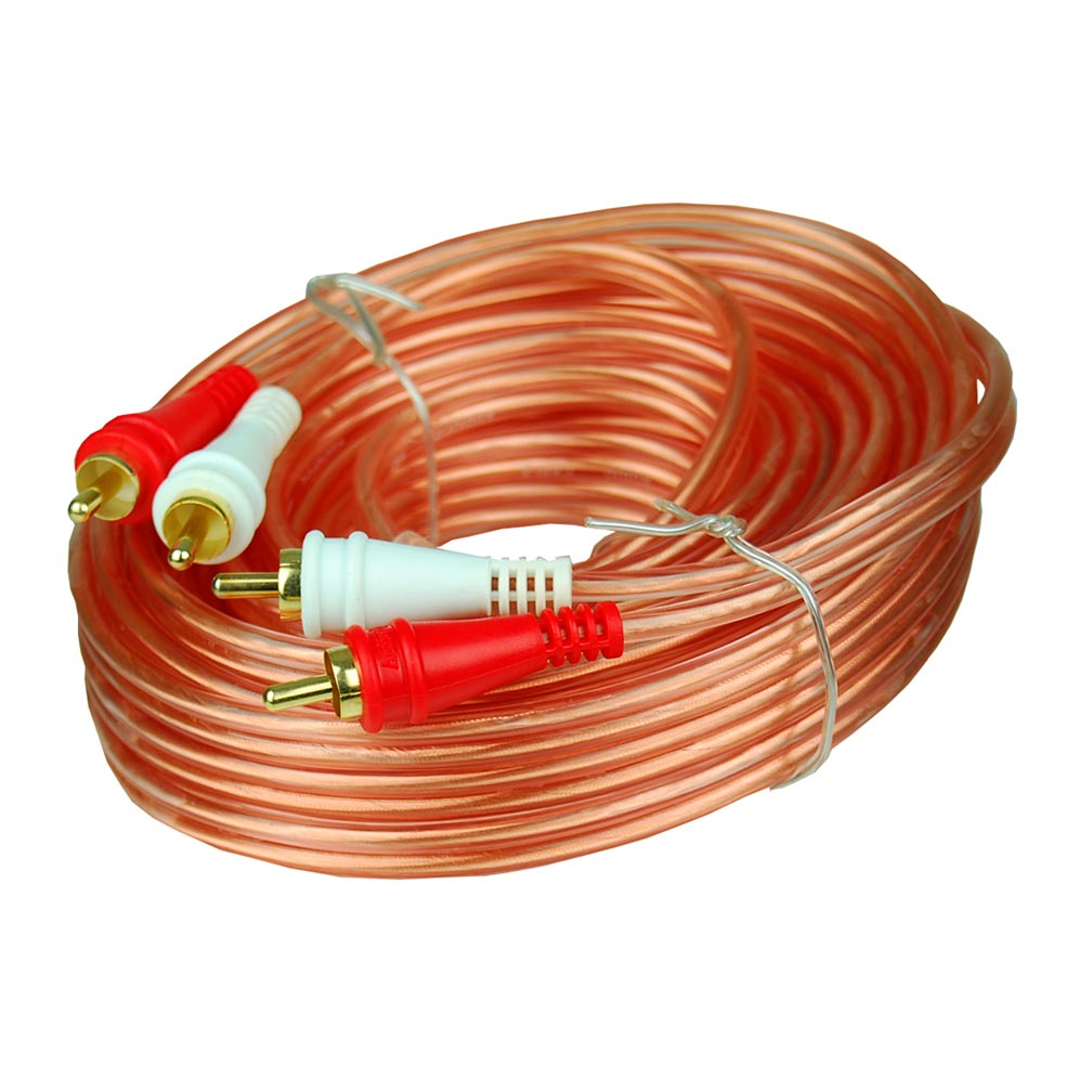 Audiopipe RCA Cable 25 ft. 10Pack *BMSG25*