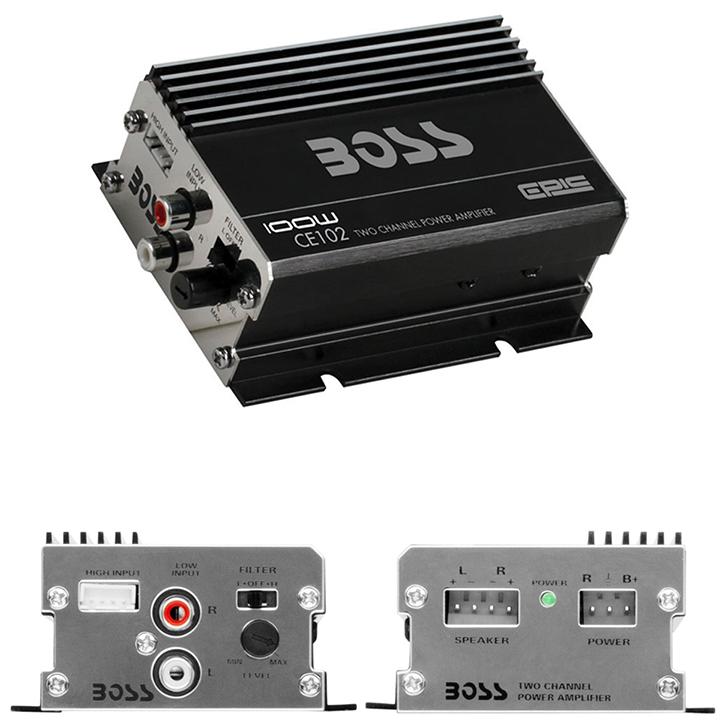 Boss 100W Two Channel Amplifier