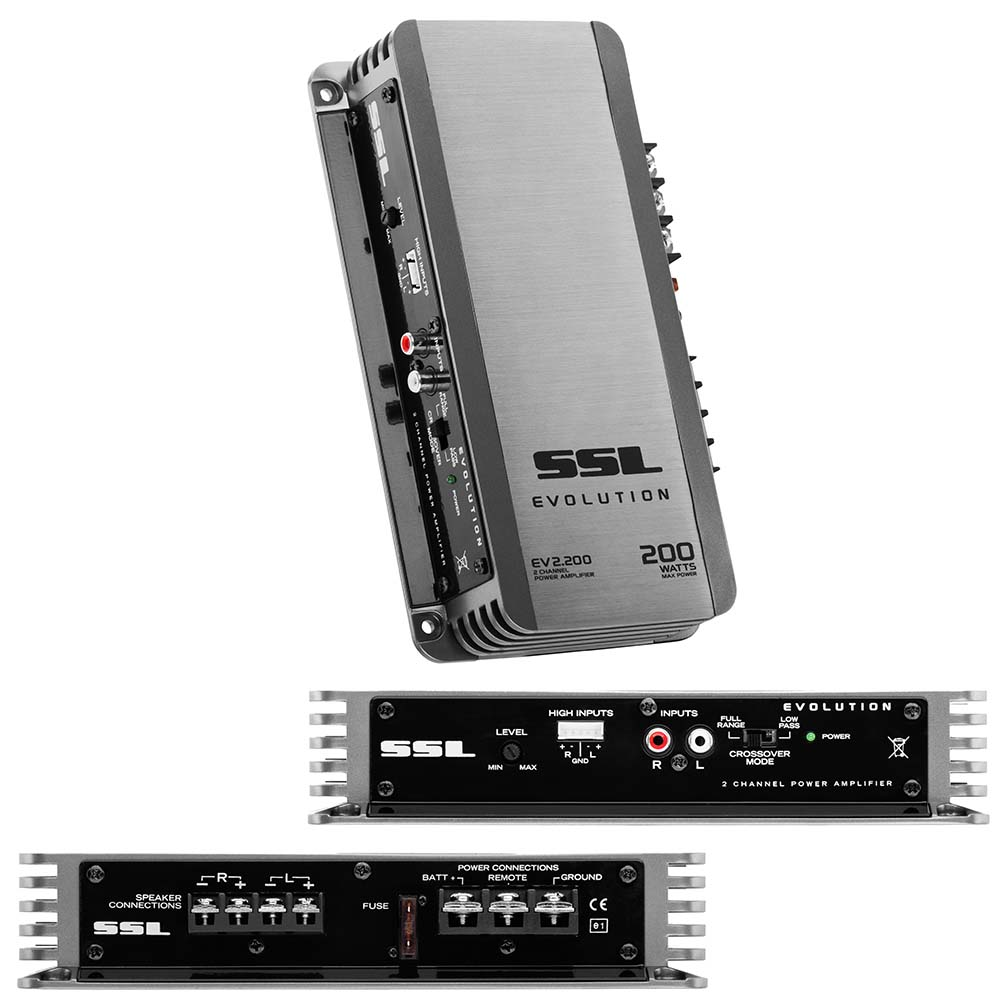 Sounstorm Mosfet 2CH 200W Power Amplifier