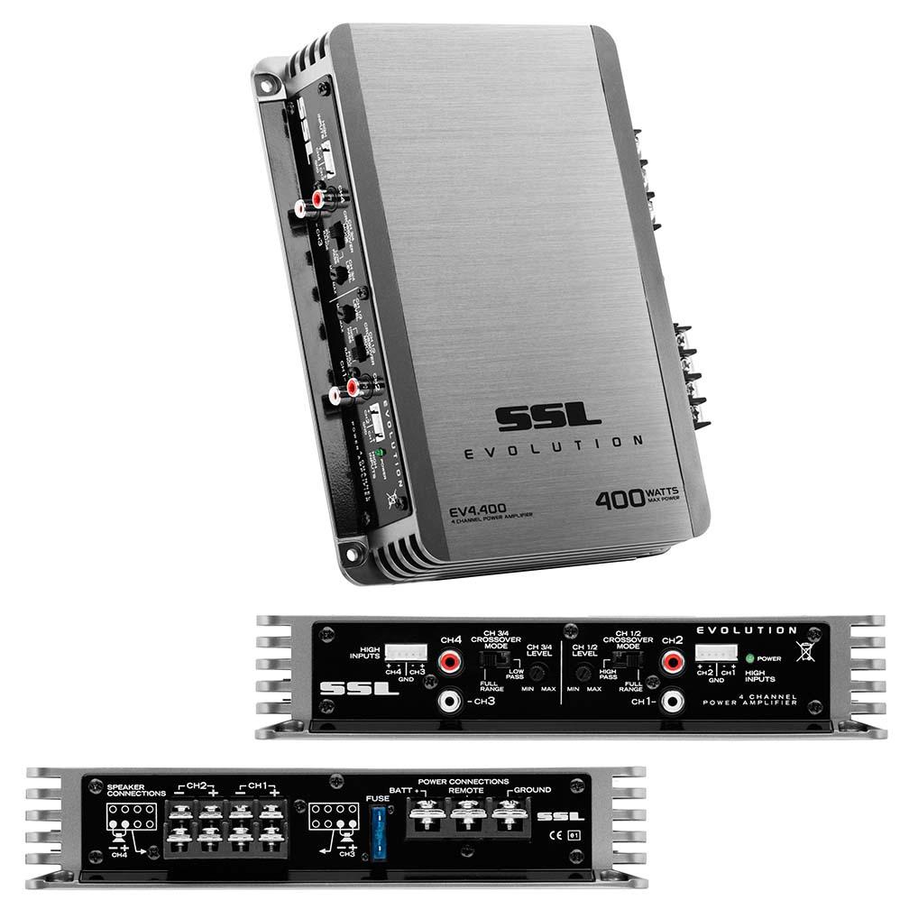 Sounstorm Mosfet 4CH Power Amplifier