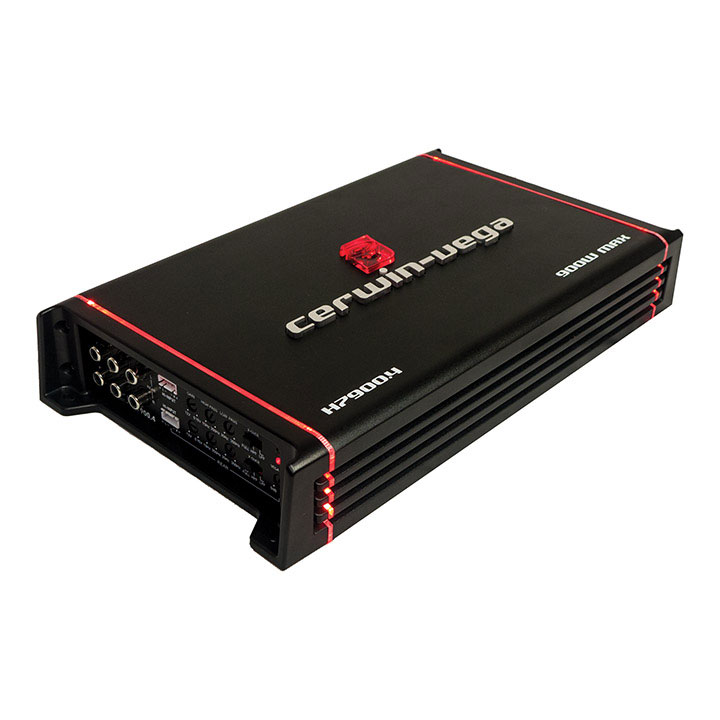 Cerwin Vega HED Mobile 4-Ch 90WX4 at 2ohm 65WX4 at 4ohm RMS 180X2 at 4ohm/ 900W