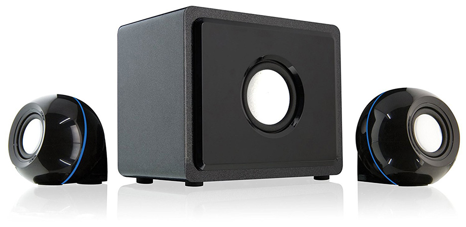 GPX HT12B 2.1 Channel Home Theater Speaker System