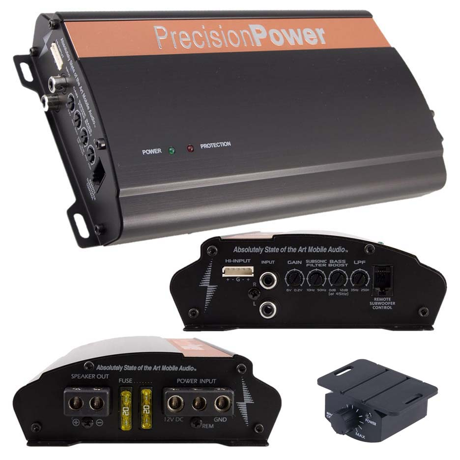 Precision Power Monoblock Amplifier 650W RMS
