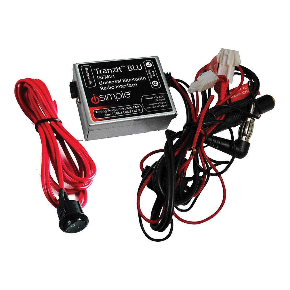 I-Simple Tranzit Universal BlueTooth FM Transmitter