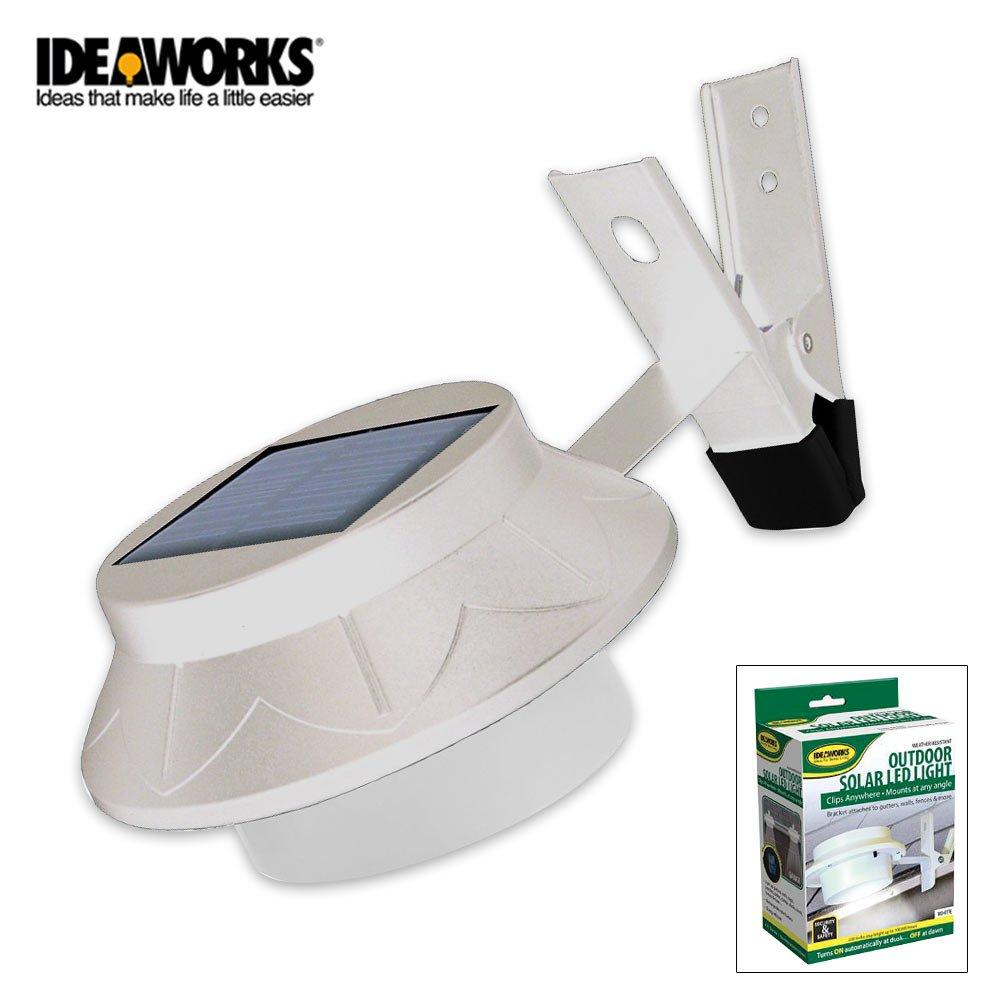 IdeaWorks JB6806 Outdoor Solar LED Light White