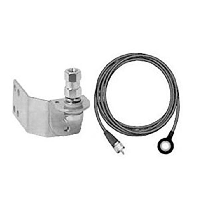 Firestik Adjustable Door Jamb Mount (SS) w/18' Fire-Ring Coax