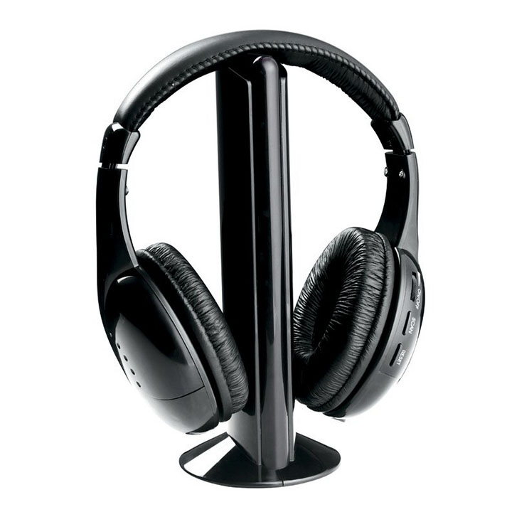 Naxa Professional 5-in-1 wireless headphone system