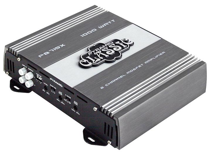 Pyramid classic 2 channel 1000 watt amplifier
