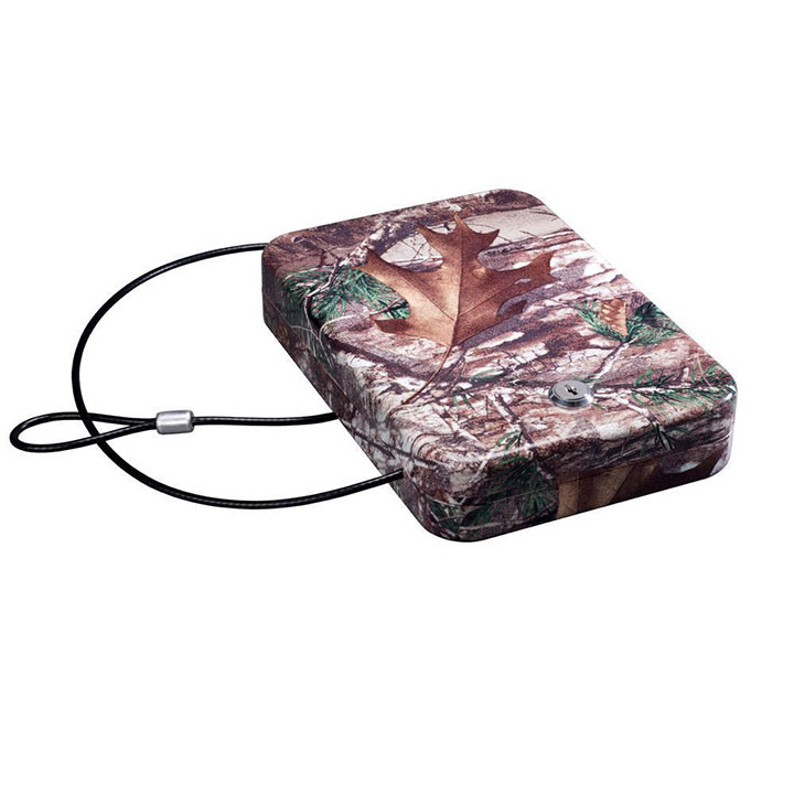 Stack On Portable Case with Key Lock - Camo