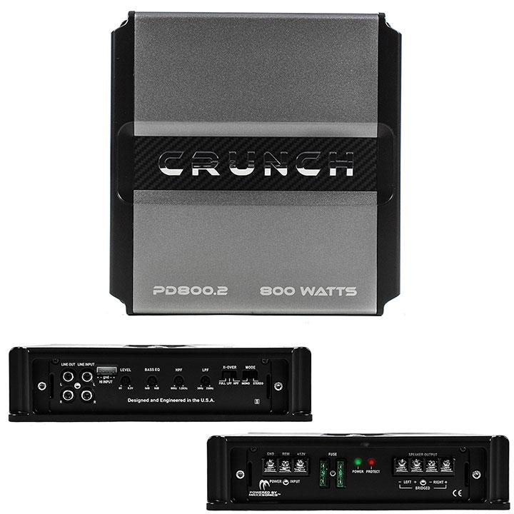 Crunch Power Drive 2-Channel 800w Amplifier