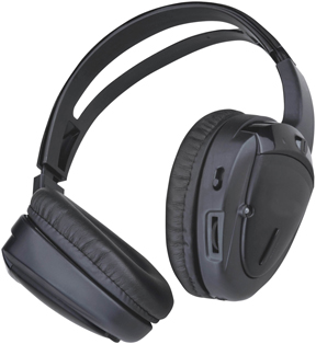 Planet Wireless Infrared Headphones