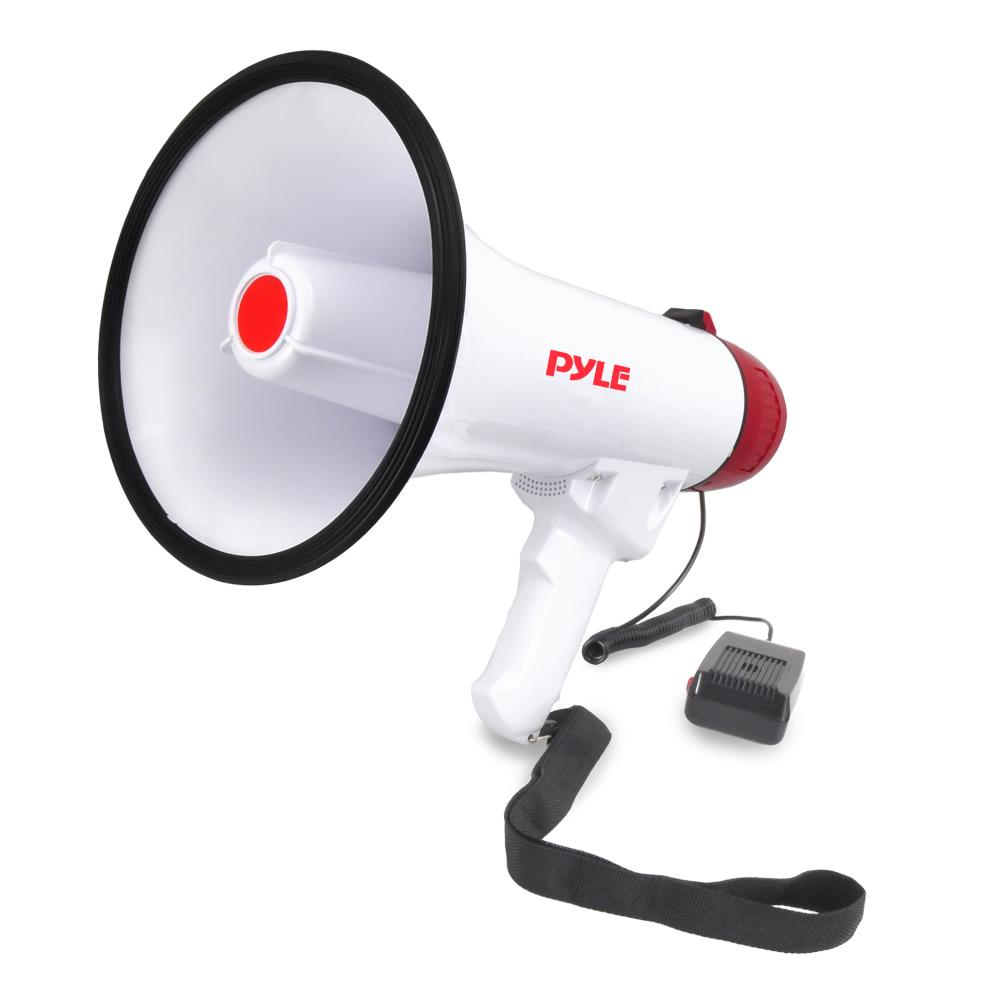 Pyle 40W Mini megaphone with Siren