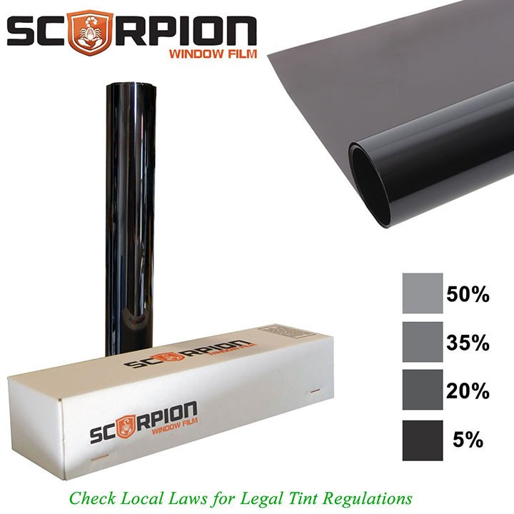 Scorpion Window Tint Predator Series 2 ply 15% 24