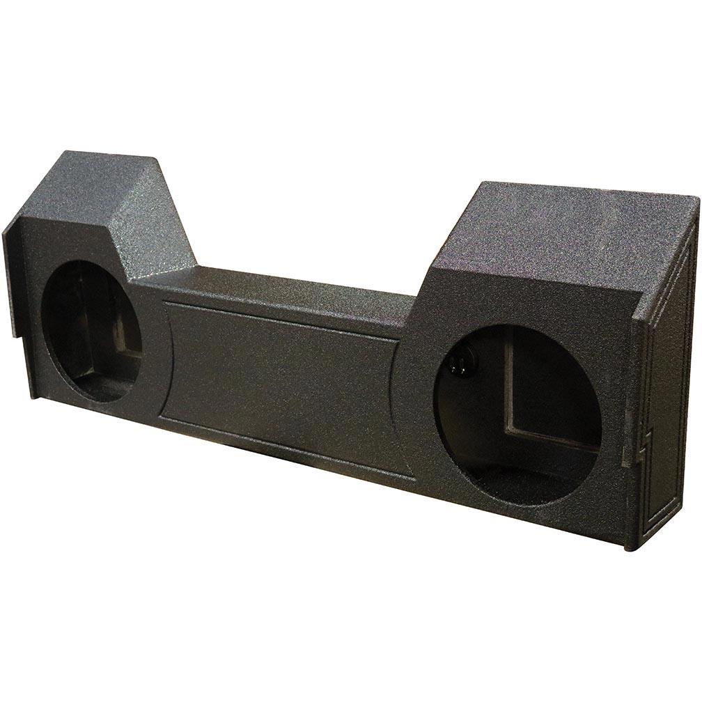 "Qpower QBGMC122007HT Bomb Gmc Dual 12/"" Woofer Box"