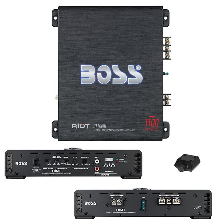 Boss Riot Monoblock Amplifier 1100W Max