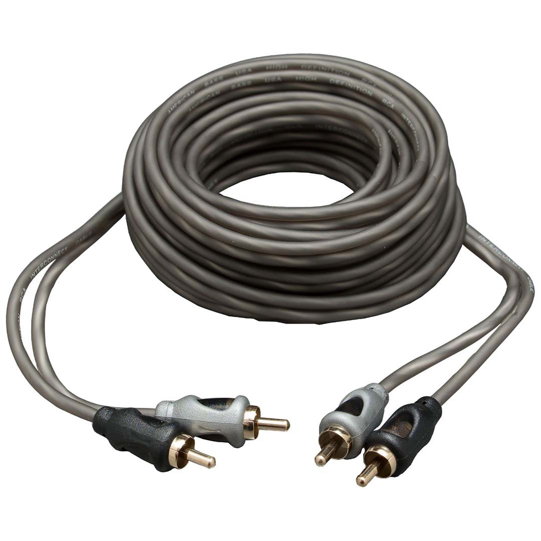 American Bass 18Ft RCA Cable