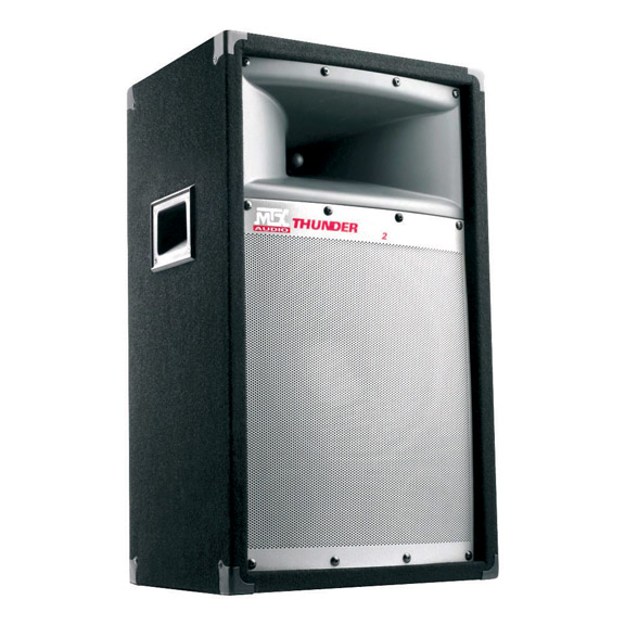 PROFESSIONAL DJ TOWER SPEAKERS MTX THUNDERPRO2;12