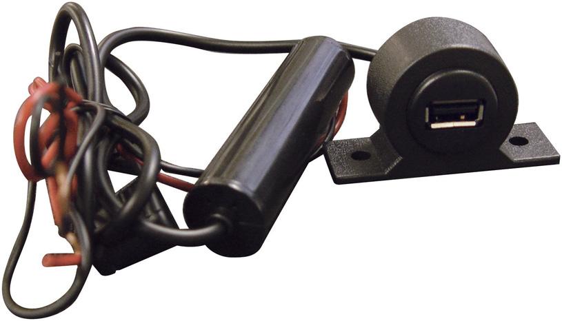 PAC 5 Volt USB Power Oulet dash mountable